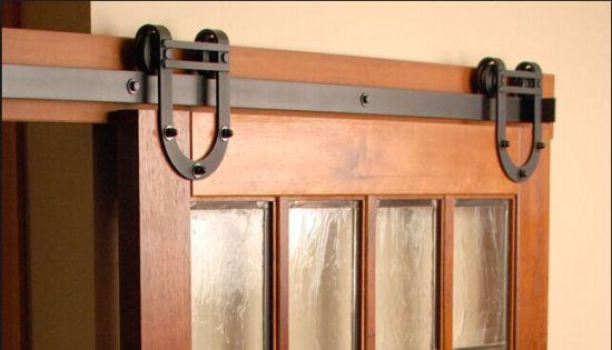 China Horseshoe Flat Track Hardware Barn Door Parts China Barn