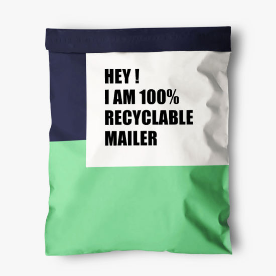 Recycled Wholesale Colorful Mailers Bag