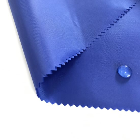 High Quality 170-210t PA PU Coated Taffeta with Water Repellent