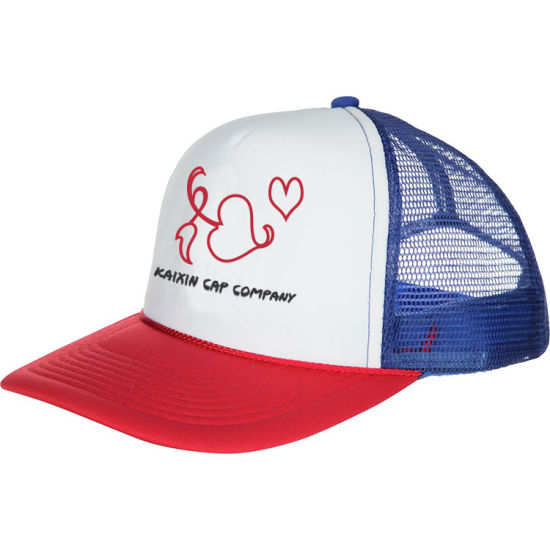 7e11de1bef4 China Custom Children Caps and Hats Kids Printed Foam Mesh Trucker ...