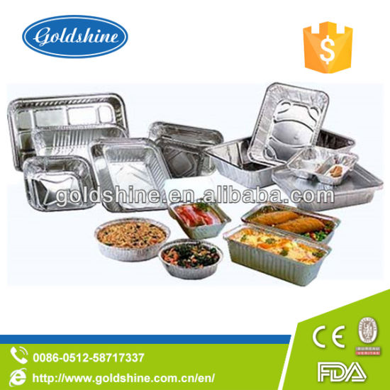 Diaposable Aluminium Food Packaging Containers pictures & photos