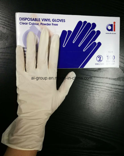 Wholesale Cheap New Products Medical Disposable Powdered Vinyl Examination Gloves
