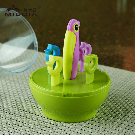 Promotional Items/Christmas Gift for Ceramic Folding Knife/Forks/Fruit Tool Set pictures & photos