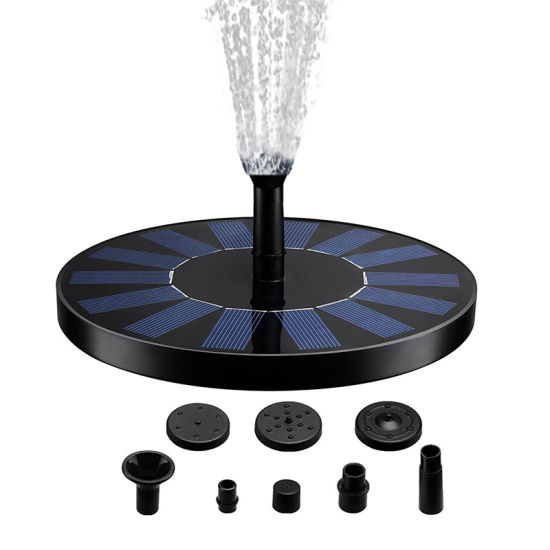 Outdoor Decorative Solar Fountain Water Pump for Small Bird Bath pictures & photos