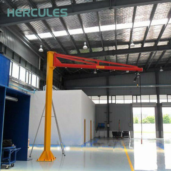 Free Standing 360 Degree Jib Crane with Slewing Arm pictures & photos