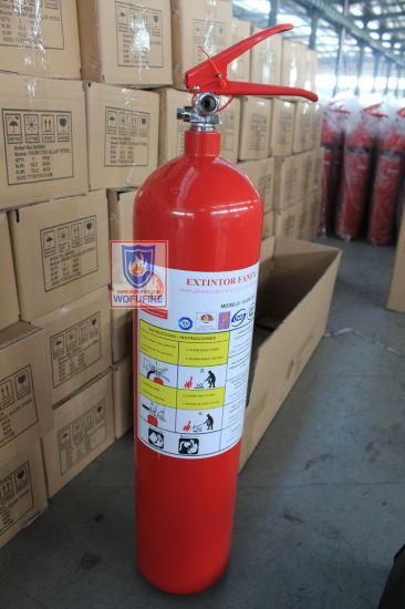 10lbs CO2 Alloy Steel Fire Extinguisher pictures & photos