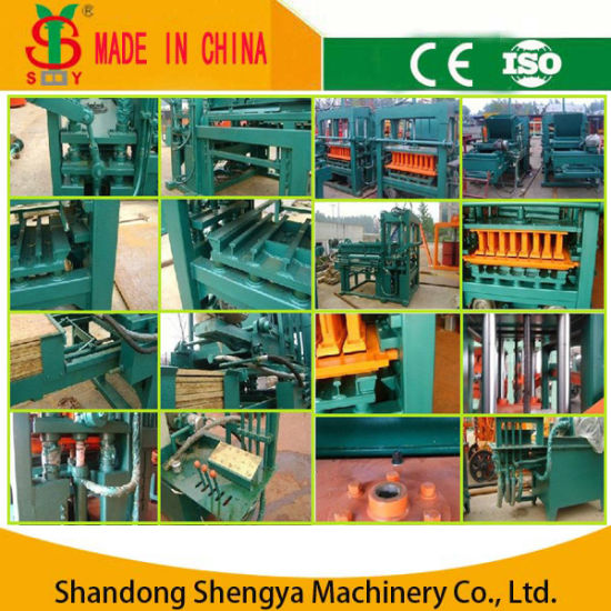 Qt4-20 Semi-Automatic Hydraulic Concrete Block Making Machine/Hollow Block Making Machine/Paver Brick Making Machine pictures & photos