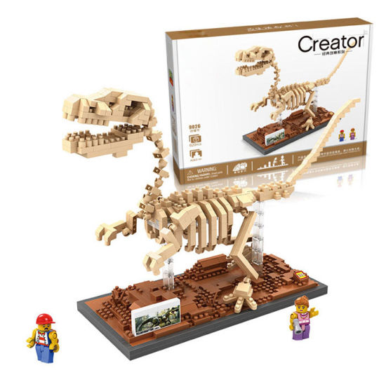 6739026-ABS 620PCS Raptorsaurus Building Block Toy for Enhancing Social Cooperation Ability pictures & photos