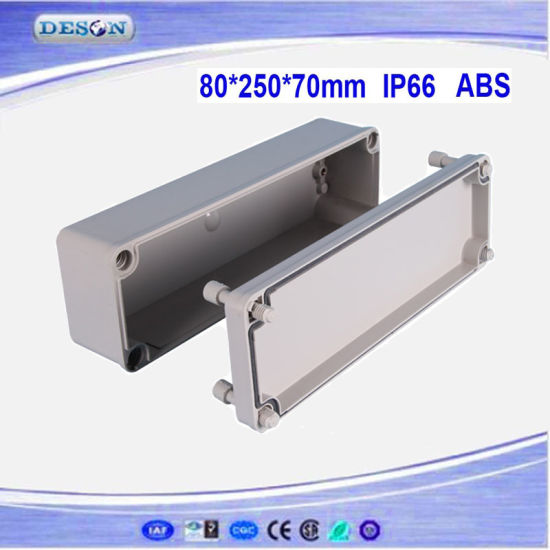 Solid Cover IP66 ABS/PC Toyogiken Waterproof Box 80X250X70mm