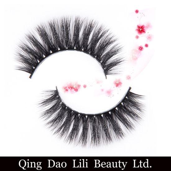 Cheap 3D Synthetic Lashes Wholesale False Eyelashes 3D Faux Mink Eyelashes  Custom Packaging