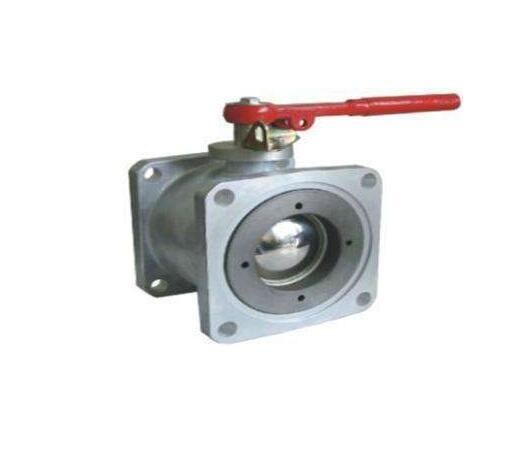 Q41f-Zl Square Flange Aluminium Alloy Ball Valve pictures & photos