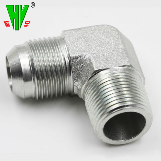China NPT Jic SAE Bsp Metric Hose Connection Hydraulic Fittings