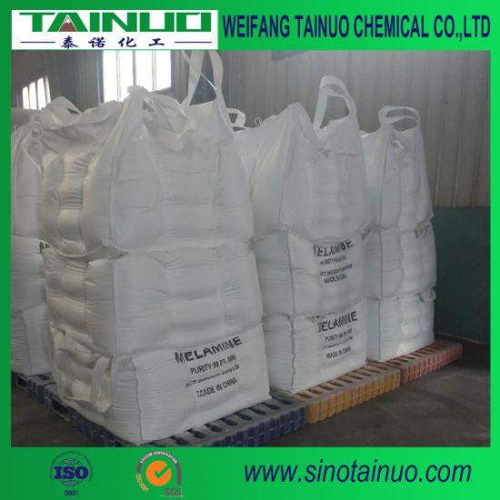 Fine Melamine Powder 99.8% Min Packing in 25kg/500kg/1000kg Bags