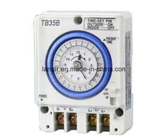 China Tb 35b Save Energy 24 Hours Timer Switch Ac 220v China Timer Switch Timer Timer Switch