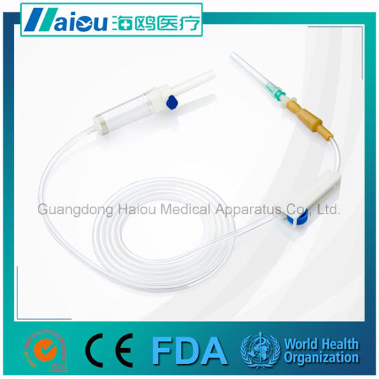 Disposable Medical Supply with Infusion Set