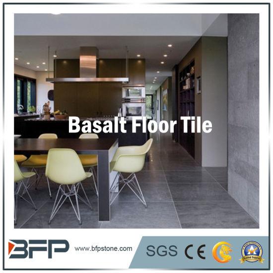China Polishedflamed Stone Basalt Floor Tile For Flooringwall