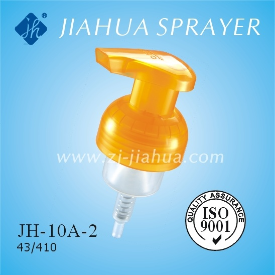 Fine Plastic Foam Pump with Clear Cover or Lock Switch (JH-10A-2)