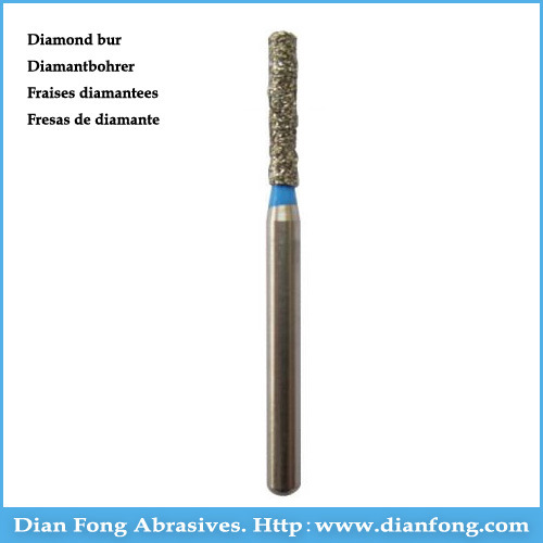 Sf-21 High Speed Cylindrical Shaped Diamond Bur Dental Clinic pictures & photos