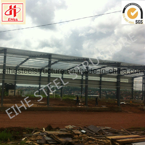 High Quality Low Cost Steel Frame Prefabricated Warehouse Building pictures & photos