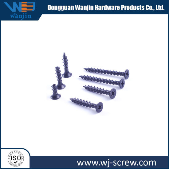 Bugle Head Black Self Tapping Drywall Screws for Ceiling