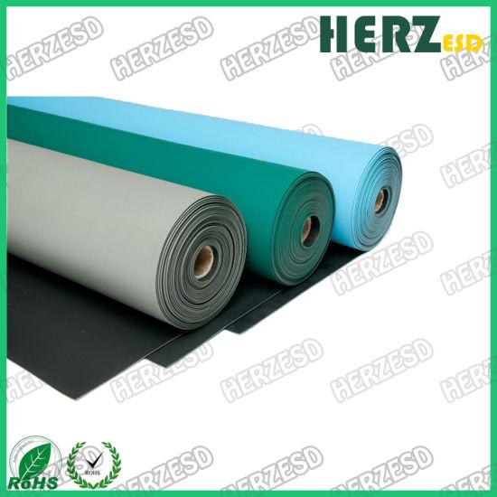 Customizable Environmental Natural Rubber ESD Table Anti-Static Floor Mat