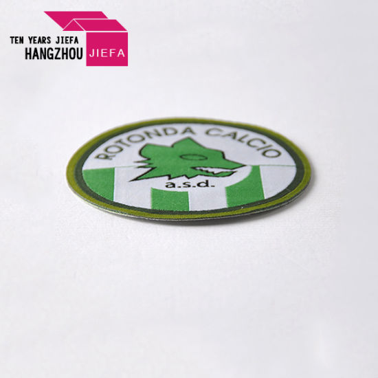Custom High Quality Embroidery Patches No Minimum in Low Price pictures & photos
