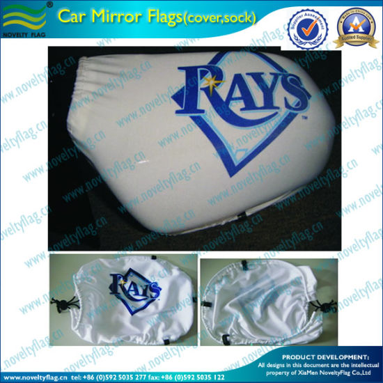 Top Quality Car Wing Flag Mirror Sock for Promotion (L-NF13F14007) pictures & photos