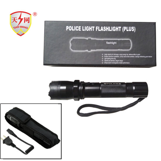 Non-Lethal Self Defense Electric Shock Flashlight Stun Guns pictures & photos