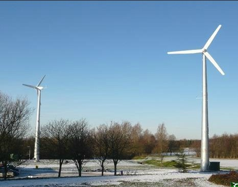 5kw Pitch Controlled Variable Speed Wind Turbine Generator pictures & photos