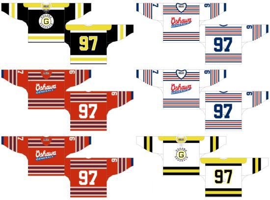 7f99bb230 China Ohl Oshawa Generals Customized Ice Hockey Jersey - China ...
