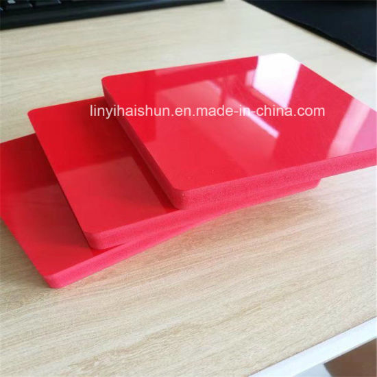 White and Color Foam PVC for Decoration