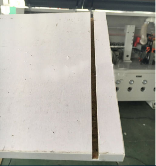 Man Made Board/ Decorative Board/ Particle Board/ Wood Veneer/ Plywood Woodworking Promotional Customized Edge Banding Machine pictures & photos