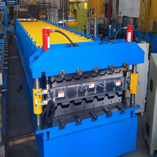 Double Layer Roll Form Machine for Metal Roofing or Wall Panels pictures & photos