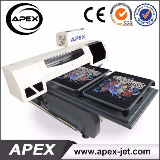 6090cm Direct To Garment Digital Flatbed T Shirt Printing Machine For Sale