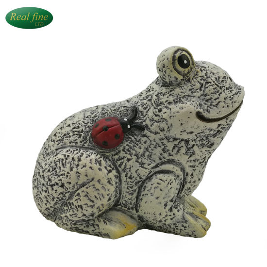 Ceramic Pond Statue Garden Frog Ornaments
