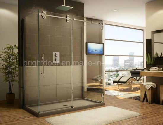 China Cost Of Best Custom Made Glass Shower Doors Frameless Doors