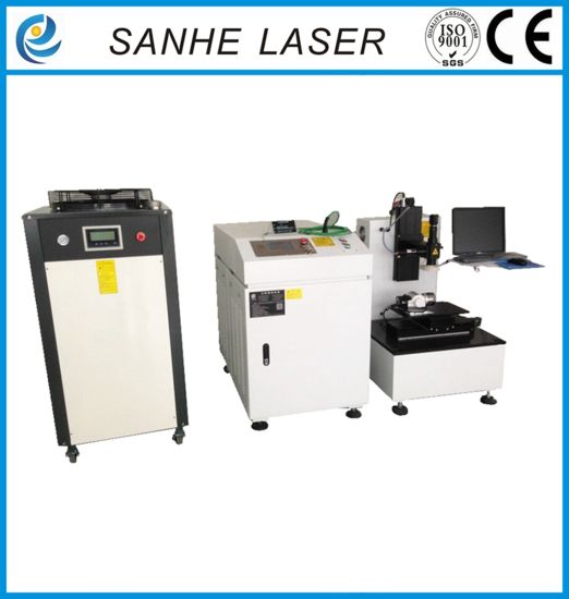 Automatic Fiber Laser Welding Machine for Fiber Optic Coupling Devices pictures & photos