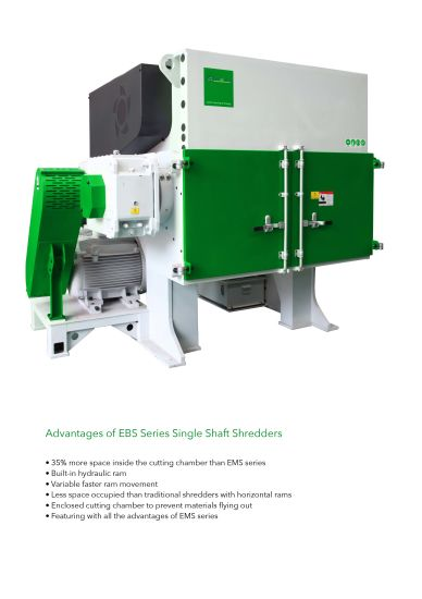 Strong/Heavy Shredder for PP/PE/PS/ABS/XPS/EPE/EPS Boards pictures & photos