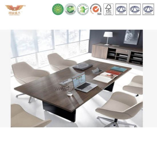 China Modern Office Furniture High Quality Hot Sale Meeting Table - Conference table and chairs for sale