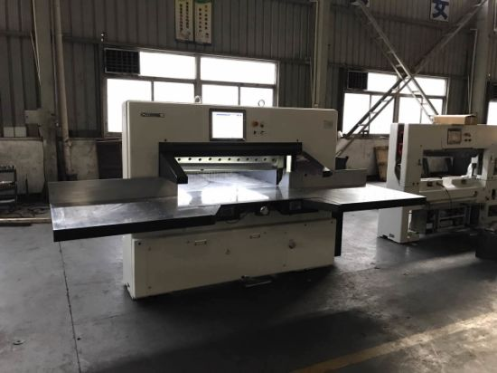 Double Hydraulic Paper Cutting Machine (115F) pictures & photos