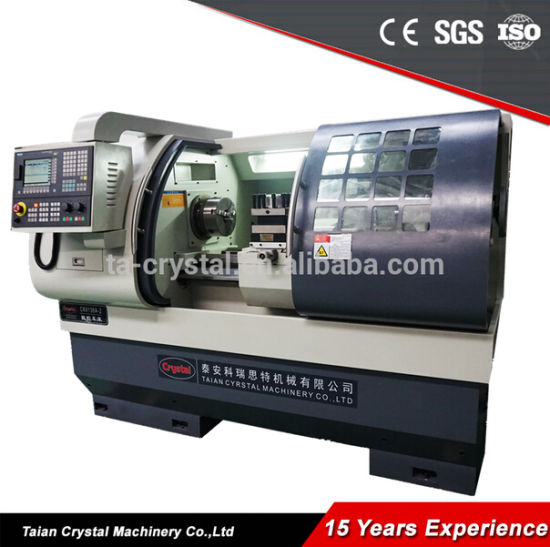 Small CNC Bench Lathe CNC Metal Turning Lathe Machine Ck6136A-2 pictures & photos