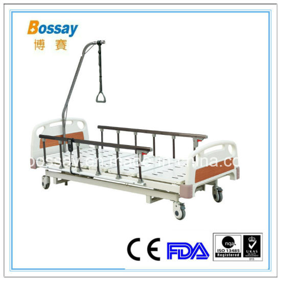 Commercial Type Three Functions Patient Bed Adjustable Bed pictures & photos