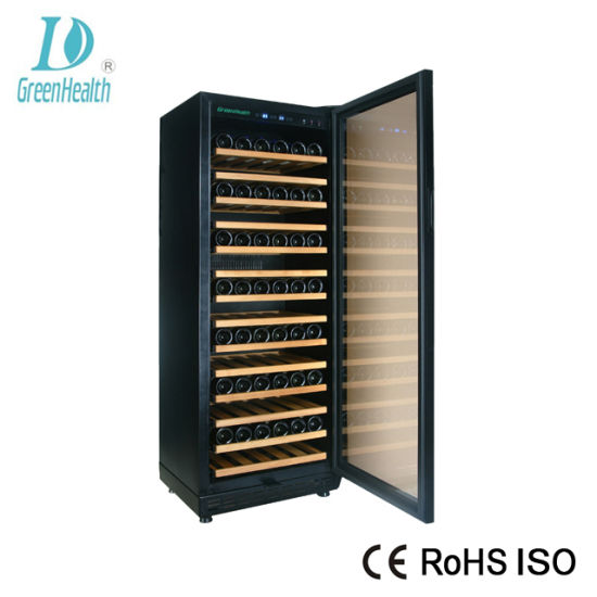 China Professional Design Glass Door Red Wine Storage Cooler China