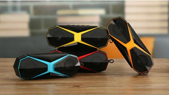 Bluetooth Wireless Speaker Waterproof Dust Proof with Bluetooth Amplifier TF Card Play