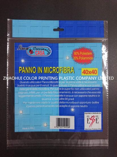 High Quality OPP Header Printing Plastic Packing Bag