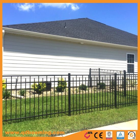 Ornamental Steel Aluminum Garden Fence