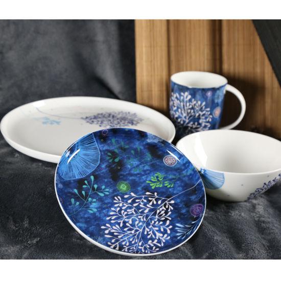 The Dishes Set Household Creative Design Ceramic Plate Bone China Tableware