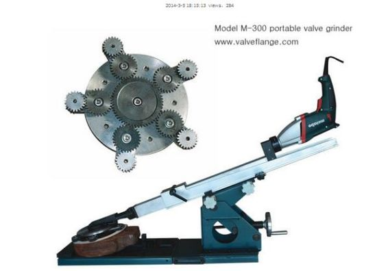 Dn80-300 M-300 Portable Valve Grinder Grinding Tool / Lapping Machine