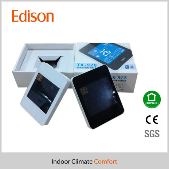 LCD Touch Screen Smart Room Thermostats with WiFi Remote Control pictures & photos