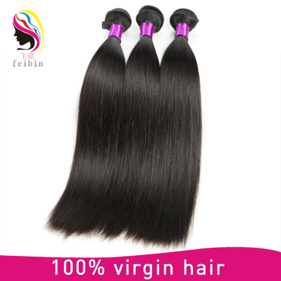 Wholesale 8A Brazilian Human Remy Straight Hair Extension pictures & photos